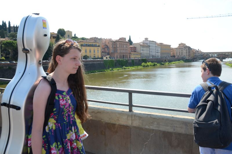 02 - Crossing the River Arno