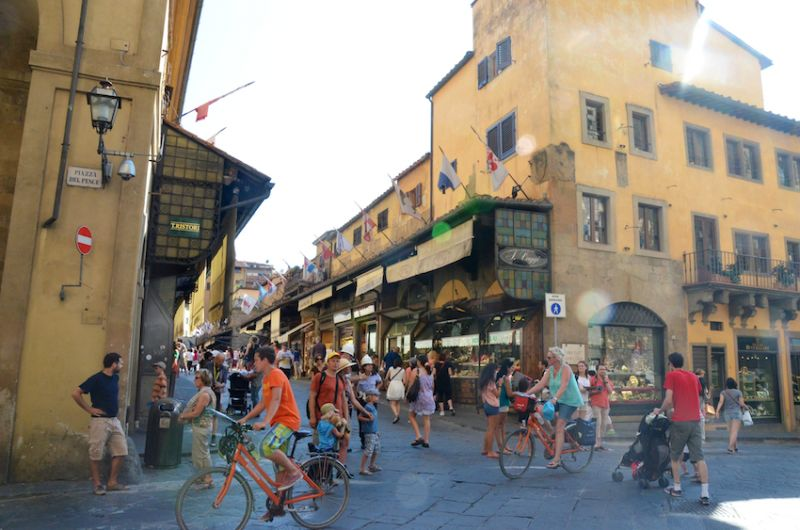 12 - Shops on the nearby Ponte Vecchio