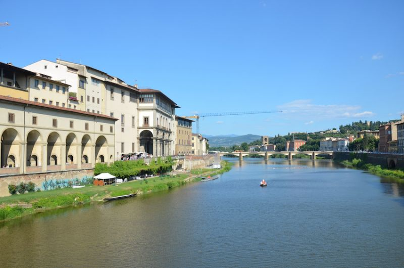 13 - A city of bridge - once the capital of Italy