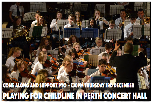 Childline Concert @ Perth Concert Hall | Perth | United Kingdom