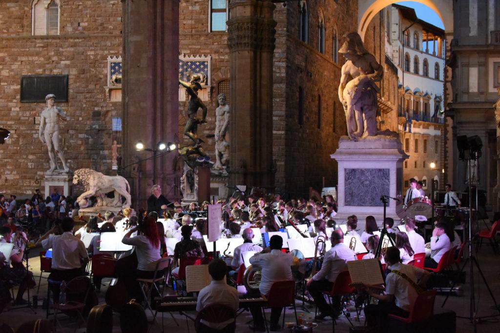 Loggia dei Lanzi, Piazza della Signoria, Florence