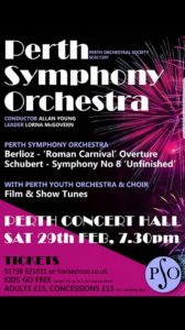 Joint Concert with PSO @ Perth Concert Hall